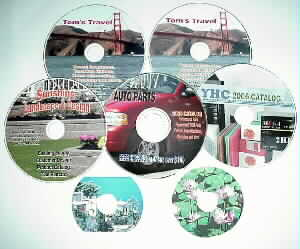 Direct CD/DVD Printing Services in Markham, Ontario, Canada
